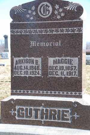 GUTHRIE, ARKISON B - Richland County, Ohio | ARKISON B GUTHRIE - Ohio Gravestone Photos