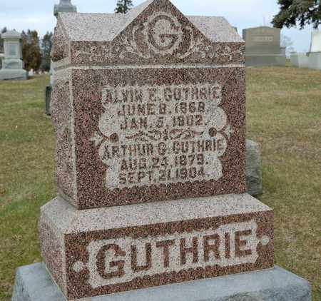 GUTHRIE, ARTHUR G - Richland County, Ohio | ARTHUR G GUTHRIE - Ohio Gravestone Photos