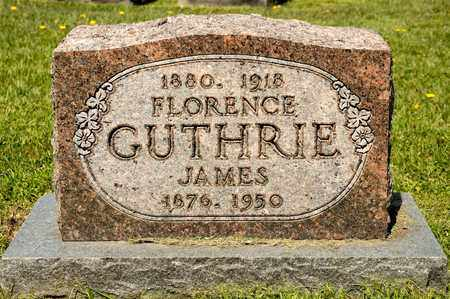 GUTHRIE, JAMES - Richland County, Ohio | JAMES GUTHRIE - Ohio Gravestone Photos