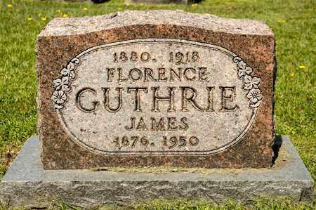 GUTHRIE, FLORENCE - Richland County, Ohio | FLORENCE GUTHRIE - Ohio Gravestone Photos