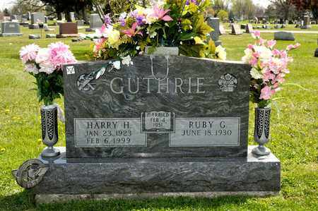 GUTHRIE, RUBY G - Richland County, Ohio | RUBY G GUTHRIE - Ohio Gravestone Photos