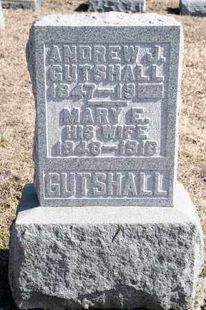 GUTSHALL, MARY E - Richland County, Ohio | MARY E GUTSHALL - Ohio Gravestone Photos