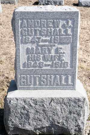 GUTSHALL, ANDREW J - Richland County, Ohio | ANDREW J GUTSHALL - Ohio Gravestone Photos