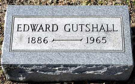 GUTSHALL, EDWARD - Richland County, Ohio | EDWARD GUTSHALL - Ohio Gravestone Photos