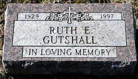 GUTSHALL, RUTH E - Richland County, Ohio | RUTH E GUTSHALL - Ohio Gravestone Photos