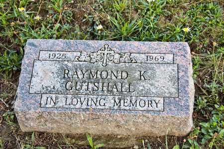 GUTSHALL, RAYMOND K - Richland County, Ohio | RAYMOND K GUTSHALL - Ohio Gravestone Photos