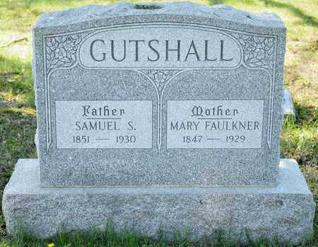 FAULKNER GUTSHALL, MARY - Richland County, Ohio | MARY FAULKNER GUTSHALL - Ohio Gravestone Photos