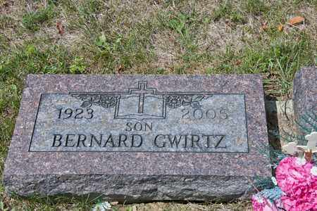 GWIRTZ, BERNARD - Richland County, Ohio | BERNARD GWIRTZ - Ohio Gravestone Photos