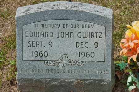 GWIRTZ, EDWARD JOHN - Richland County, Ohio | EDWARD JOHN GWIRTZ - Ohio Gravestone Photos