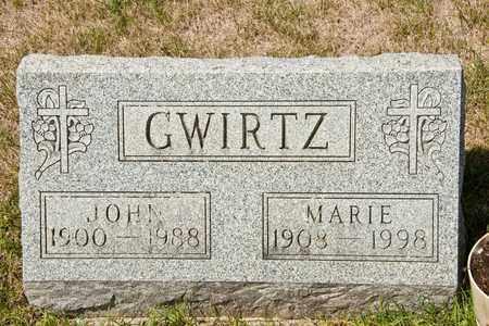 GWIRTZ, MARIE - Richland County, Ohio | MARIE GWIRTZ - Ohio Gravestone Photos
