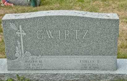 GWIRTZ, JOSEPH M - Richland County, Ohio | JOSEPH M GWIRTZ - Ohio Gravestone Photos