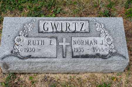 GWIRTZ, NORMAN J - Richland County, Ohio | NORMAN J GWIRTZ - Ohio Gravestone Photos