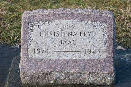 HAAG, CHRISTENA - Richland County, Ohio | CHRISTENA HAAG - Ohio Gravestone Photos