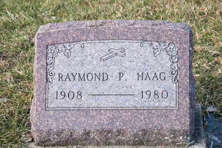 HAAG, RAYMOND P - Richland County, Ohio | RAYMOND P HAAG - Ohio Gravestone Photos
