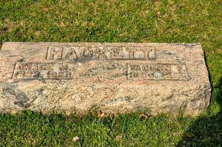 HACKETT, GRACE M - Richland County, Ohio | GRACE M HACKETT - Ohio Gravestone Photos