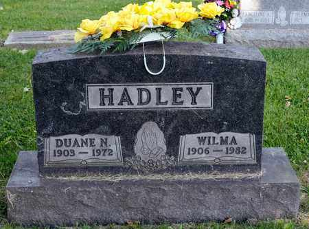 HADLEY, WILMA - Richland County, Ohio | WILMA HADLEY - Ohio Gravestone Photos
