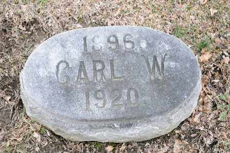 HAFER, CARL W - Richland County, Ohio | CARL W HAFER - Ohio Gravestone Photos