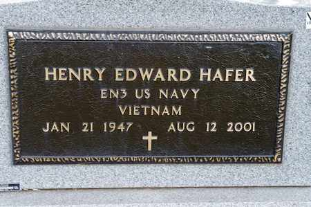 HAFER, HENRY EDWARD - Richland County, Ohio | HENRY EDWARD HAFER - Ohio Gravestone Photos