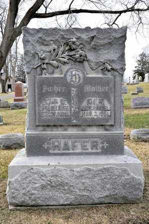 HAFER, JOHN W - Richland County, Ohio | JOHN W HAFER - Ohio Gravestone Photos