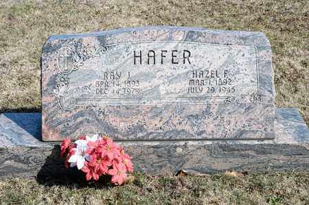 HAFER, RAY J - Richland County, Ohio | RAY J HAFER - Ohio Gravestone Photos