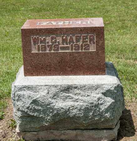 HAFER, WILLIAM G - Richland County, Ohio | WILLIAM G HAFER - Ohio Gravestone Photos