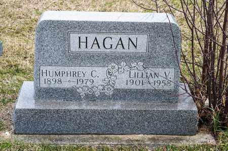 HAGAN, LILLIAN V - Richland County, Ohio | LILLIAN V HAGAN - Ohio Gravestone Photos