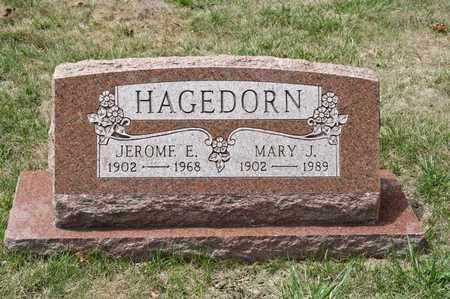 HAGEDORN, JEROME E - Richland County, Ohio | JEROME E HAGEDORN - Ohio Gravestone Photos