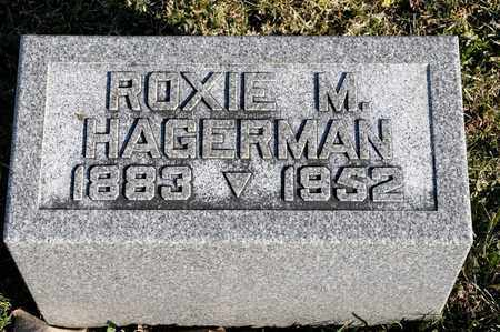 HAGERMAN, ROXIE M - Richland County, Ohio | ROXIE M HAGERMAN - Ohio Gravestone Photos