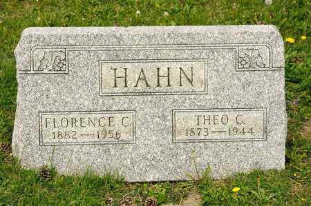 HAHN, THEO C - Richland County, Ohio | THEO C HAHN - Ohio Gravestone Photos