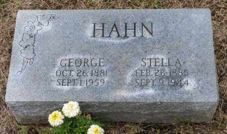 HAHN, GEORGE - Richland County, Ohio | GEORGE HAHN - Ohio Gravestone Photos