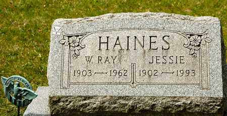 HAINES, JESSIE - Richland County, Ohio | JESSIE HAINES - Ohio Gravestone Photos