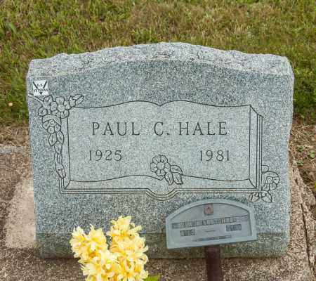 HALE, PAUL C - Richland County, Ohio | PAUL C HALE - Ohio Gravestone Photos