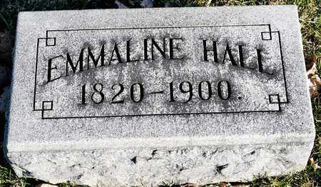 HALL, EMMALINE - Richland County, Ohio | EMMALINE HALL - Ohio Gravestone Photos