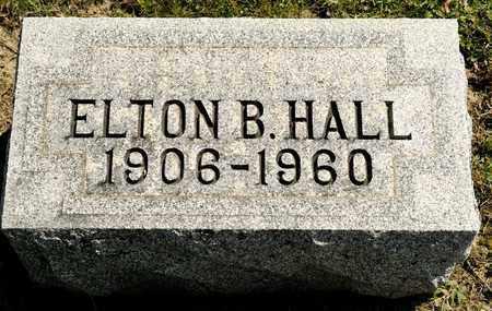 HALL, ELTON B - Richland County, Ohio | ELTON B HALL - Ohio Gravestone Photos