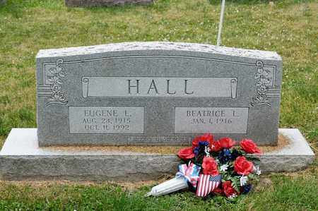 HALL, EUGENE L - Richland County, Ohio | EUGENE L HALL - Ohio Gravestone Photos