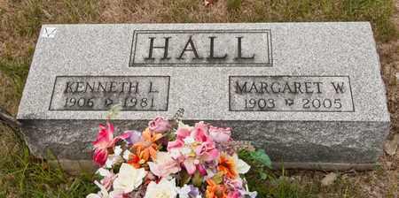 HALL, MARGARET W - Richland County, Ohio | MARGARET W HALL - Ohio Gravestone Photos