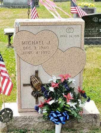 HALL, MICHAEL J - Richland County, Ohio | MICHAEL J HALL - Ohio Gravestone Photos