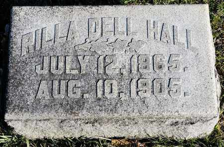 DELL HALL, RILLA - Richland County, Ohio | RILLA DELL HALL - Ohio Gravestone Photos