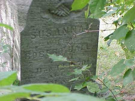 HALL, SUSANNAH - Richland County, Ohio | SUSANNAH HALL - Ohio Gravestone Photos