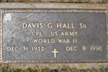 HALL SR, DAVIS G - Richland County, Ohio | DAVIS G HALL SR - Ohio Gravestone Photos