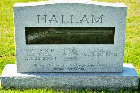 HALLAM, PATRICK E - Richland County, Ohio | PATRICK E HALLAM - Ohio Gravestone Photos