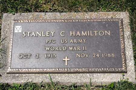 HAMILTON, STANLEY C - Richland County, Ohio | STANLEY C HAMILTON - Ohio Gravestone Photos
