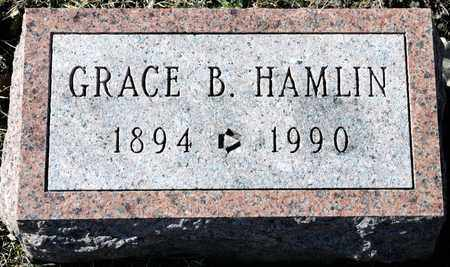 HAMLIN, GRACE B - Richland County, Ohio | GRACE B HAMLIN - Ohio Gravestone Photos