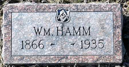 HAMM, WILLIAM - Richland County, Ohio | WILLIAM HAMM - Ohio Gravestone Photos
