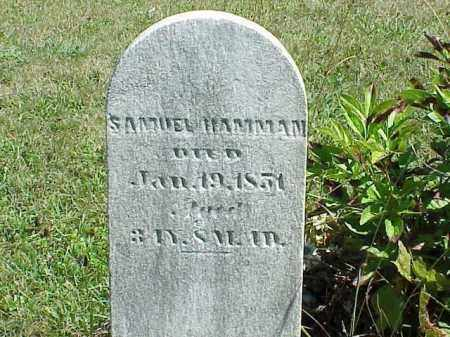 HAMMAN, SAMUEL - Richland County, Ohio | SAMUEL HAMMAN - Ohio Gravestone Photos