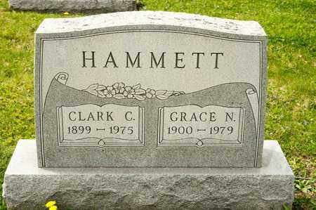 HAMMETT, GRACE N - Richland County, Ohio | GRACE N HAMMETT - Ohio Gravestone Photos