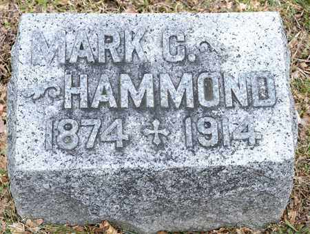 HAMMOND, MARK C - Richland County, Ohio | MARK C HAMMOND - Ohio Gravestone Photos