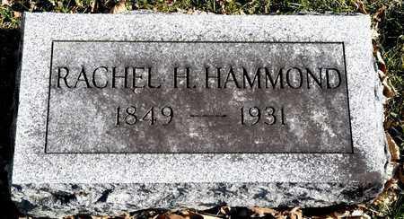 HAMMOND, RACHEL H - Richland County, Ohio | RACHEL H HAMMOND - Ohio Gravestone Photos