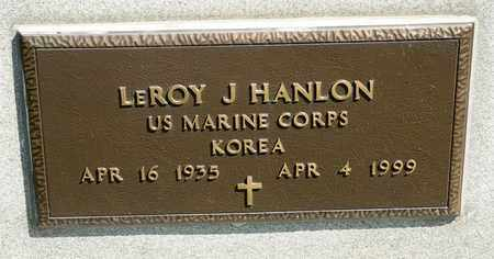 HANLON, LEROY J - Richland County, Ohio | LEROY J HANLON - Ohio Gravestone Photos