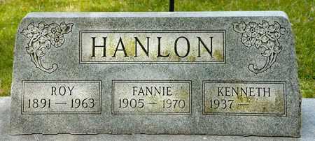 HANLON, FANNIE - Richland County, Ohio | FANNIE HANLON - Ohio Gravestone Photos